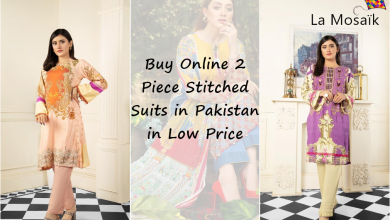 Photo of Buy 2 Piece Stitched Suits Online in Pakistan in Low Price