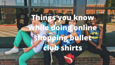 Photo of Things you know while shopping about bullet club shirts