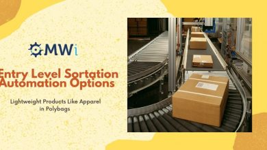 Photo of Entry Level Sortation Automation Options for Lightweight Products Like Apparel in Polybags