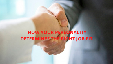 Photo of HOW YOUR PERSONALITY DETERMINES THE RIGHT JOB FIT