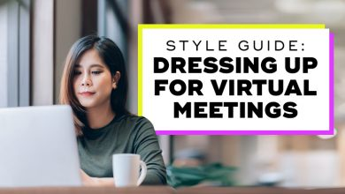 Photo of Style Guide: Dressing Up for Virtual Meetings