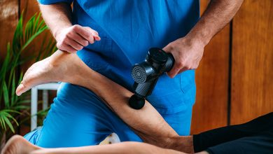 Photo of Massage gun is the optimal aid against soreness and signs of fatigue.