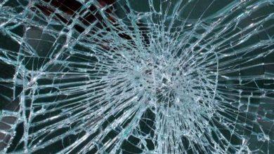 Photo of Smashed Window in Leeds