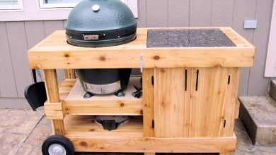 Photo of A large green egg table plan that will change your grill space
