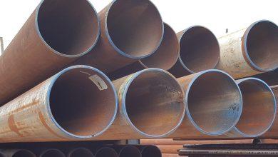 Photo of Surplus vs. New Steel Pipe