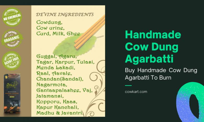 Cow Dung Agarbatti