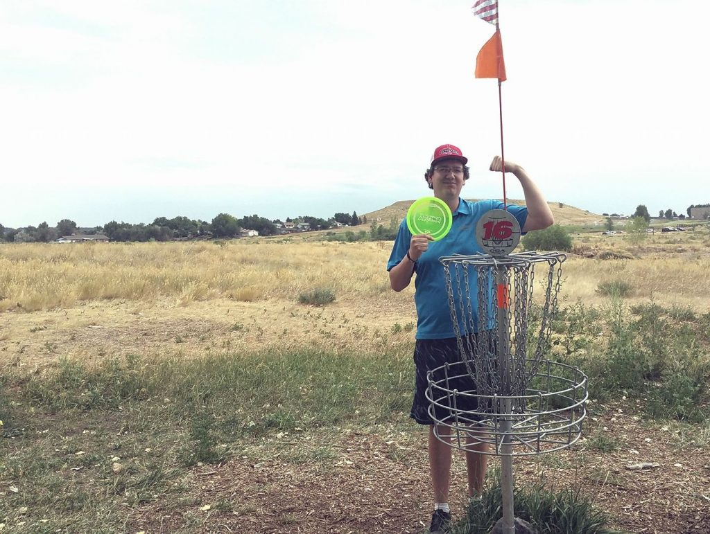 Disc-Golf and Basket